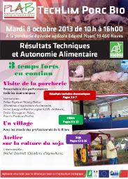 Guide technique sur le porc bio chambre d 39 agriculture landes - Chambre d agriculture haute vienne ...