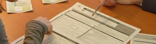 remplissage d'un formulaire au CFE